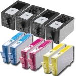 Replacement for Hewlett Packard HP 920XL (HP920XL) Combo Pack of 10 Packs High Yield Ink Cartridges with working Ink Indicator Chips