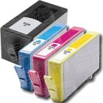 Replacement for Hewlett Packard HP 920XL (HP920XL) Combo Pack of 4 Packs High Yield Ink Cartridges with working Ink Indicator Chips