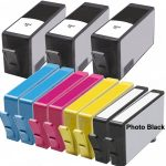 HP 564XL (Combo pack of 11) Replacement High Yield Hewlett Packard 564XL Ink Cartridges with Ink Level Indicator (3 Black, 2 Photo Black, 2 Cyan, 2 Magenta, 2 Yellow)