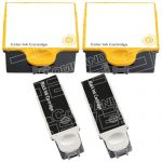 Compatible Kodak #10XL Bulk Set of 4 Ink Cartridges: 2 Black & 2 Color For the ESP 3, 5 and EASYSHARE 5100, 5300 & 5500 Printers