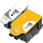 New Compatible #30XL High Yield 1550532 Black & 1341080 Color (Combo 2-Pack) Ink Cartridge for Kodak Printers