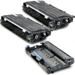 New Compatible Brother Bulk Set of 3, 2 Packs TN-350 Black Toner Cartridge & 1 Pack DR-350 Drum
