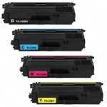 Compatible for Brother TN336 / TN-336 (Bulk Set of 4) High Yield Color Laser Toner Cartridges: 1 each of TN336BK, TN336C, TN336M & TN336Y