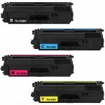 Compatible Super High Yield Laser Toner Cartridge for Brother TN339 (TN-339) Set of 4-Pack: TN339BK TN339C TN339M TN339Y
