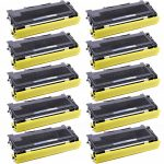Compatible Brother TN350 (TN-350) Bulk Set of 10 Black Toner Cartridges