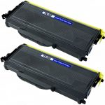 New Compatible Brother TN-360 (TN360) Bulk Set of 2 Packs High Yield Black Toner Cartridge