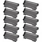 New Compatible High Yield Black Laser Toner Cartridge for Brother TN450 (Bulk Set of 10-Pack)