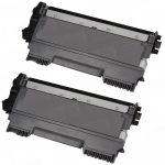 New Compatible High Yield Black Laser Toner Cartridge for Brother TN450 (Bulk Set of 2-Pack)