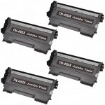 Compatible Brother TN450X Jumbo Yield Black Toner Cartridge (Set of 4-Pack)