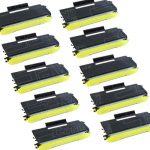 New Compatible Brother TN650 (TN-650) Combo-Pack of 10 High Yield Black Laser Toner cartridge