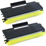 New Compatible Brother TN650 (TN-650) Combo-Pack of 2 High Yield Black Laser Toner cartridge