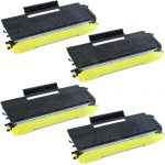 New Compatible Brother TN650 (TN-650) Combo-Pack of 4 High Yield Black Laser Toner cartridge