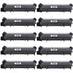 Compatible Brother TN660 (10-Pack) High Yield Black Laser cartridge Unit (TN-660)
