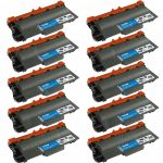 Compatible Brother TN780 Extra High Yield Black Laser Toner Cartridge (Bulk Set of 10-Pack)
