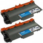 Compatible Brother TN780 Extra High Yield Black Laser Toner Cartridge (Bulk Set of 2-Pack)