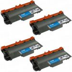 Compatible Brother TN780 Extra High Yield Black Laser Toner Cartridge (Bulk Set of 4-Pack)