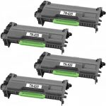 Compatible Brother TN820 (Combo Pack of 4) Black Laser cartridge Unit (TN-820)