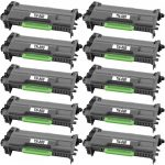 Compatible Brother TN880 (Combo Pack of 10) Super High Yield Black Laser cartridge Unit (TN-880)