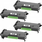 Compatible Brother TN880 (Combo Pack of 4) Super High Yield Black Laser cartridge Unit (TN-880)