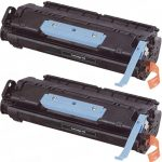 Replacement for Canon 106 (Combo Pack of 2) Black Laser Toner Cartridge (0264B001AA)