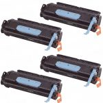 Replacement for Canon 106 (Bulk Set of 4-Pack) Black Laser Toner Cartridge (0264B001AA)