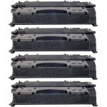 Replacement for Canon 119 II (Bulk Set of 4-Pack) High Yield Black Laser Toner Cartridge (3480B001AA)