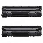 Replacement for Canon 126 (Bulk Set of 2-Pack) Black Laser Toner Cartridge (4514B002AA)