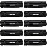 Replacement for Canon 137 (10-Pack) Black Laser Toner Cartridge (9435B001)