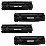 Replacement for Canon 137 (4-Pack) Black Laser Toner Cartridge (9435B001)