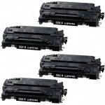 Replacement for Canon 324 II (Set of 4-Pack) High Yield Black Laser Toner Cartridge (3482B013AA)
