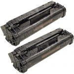 Replacement for Canon FX3 FX-3 (Combo Pack of 2) Black Toner Cartridge (H11-6381-220 / 1557A002)