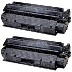 Replacement for Canon FX8 FX-8 (8955A001AA) Combo Pack of 2 Black Toner Cartridge for LaserClass 510 Printer