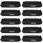 Replacement for Canon S35 S-35 (Combo Pack of 10) Black Toner Cartridge (7833A001AA)