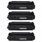 Replacement for Canon S35 S-35 (Combo Pack of 4) Black Toner Cartridge (7833A001AA)