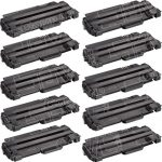 Compatible Dell 330-9523 (7H53W) 10-Pack High Yield Black Toner Cartridge for Dell 1130 Laser Printer