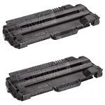 Compatible Dell 330-9523 (7H53W) 2-Pack High Yield Black Toner Cartridge for Dell 1130 Laser Printer