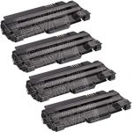 Compatible Dell 330-9523 (7H53W) 4-Pack High Yield Black Toner Cartridge for Dell 1130 Laser Printer