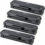 Compatible Dell 331-7335 (HF442) Black Toner Cartridge for Dell B1160 & B1160w Printer (Bulk Set of 4-Pack)