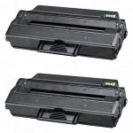 Compatible Dell 331-7328 (RWXNT) Black Toner Cartridge for Dell B1260dn & B1265dnf Printer (Bulk Set of 2-Pack)