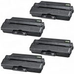 Compatible Dell 331-7328 (RWXNT) Black Toner Cartridge for Dell B1260dn & B1265dnf Printer (Bulk Set of 4-Pack)
