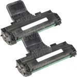 Compatible Dell 310-6640 (GC502) Combo Pack of 2 Black Toner Cartridge for Dell 1100 & 1100 Laser Printer