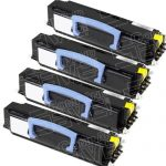 New Compatible Dell 310-8707 (GR332) Black Toner Cartridge for Dell 1720 Laser Printer (Bulk Set of 4-Pack)