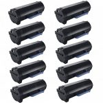 Replacement Toner to replace Dell 331-9805 (M11XH) High Yield Toner Cartridge for Dell B2360/B3460/B3465 Series (Bulk Set of 10-Pack)