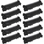Replacement for Dell 593-BBKD (P7RMX) High Yield Toner Cartridge to use in Dell E310/514dw/515dw Printers (Bulk Set of 10)