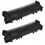 Replacement for Dell 593-BBKD (P7RMX) High Yield Toner Cartridge to use in Dell E310/514dw/515dw Printers (Bulk Set of 2)