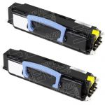 Compatible Dell 310-5400 (Y5007) Combo Pack of 2 Black Toner Cartridge for Dell 1700 / 1710 / 1710n Laser Printer