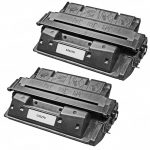 Replacement for HP C4127X (27X) Black Laser Toner Cartridge – (Combo Pack of 2)