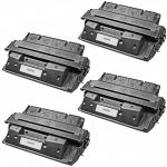 Replacement for HP C4127X (27X) Black Laser Toner Cartridge – (Combo Pack of 4)