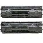 Replacement for HP CB435A (35A) 2-Pack Black Laser Toner Cartridge for Hewlett Packard (HP) P1005 & P1006