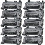 Replacement Standard Yield (10-Pack) Black Laser Toner Cartridge for Hewlett Packard (HP) CC364A – (64A) for the P4015/P4515 Printers